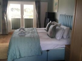 Downsfield Bed & Breakfast Carbis Bay - Double Room With Balcony & Sea View