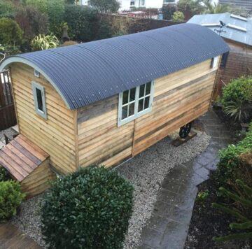 Downsfield Bed & Breakfast Carbis Bay - Luxury Shepherds Hut